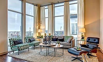 Living Room, 1407 Division St, 1