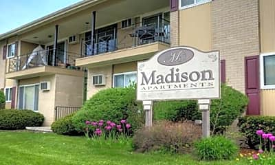 Building, Madison Apartments, 1