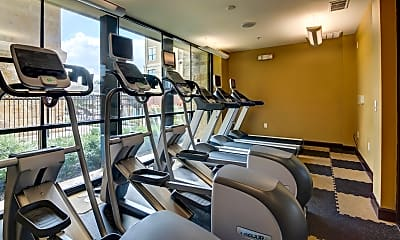 Fitness Weight Room, 300 E Basse, 1
