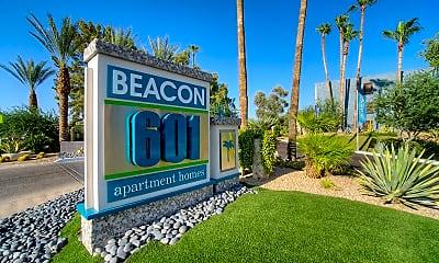 Community Signage, Beacon at 601, 2