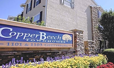 Community Signage, Copper Beech Townhomes - Per Bed Lease, 2