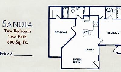 Community Signage, Villa Serena Apartments, 2