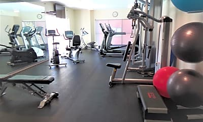 Fitness Weight Room, 1240 India St 621, 2