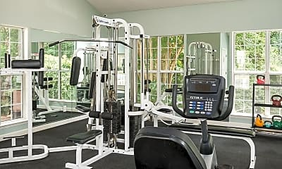 Fitness Weight Room, Savannah Place, 2