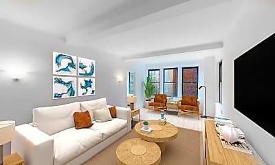 Living Room, 360 E. 55th Street #4L, 1