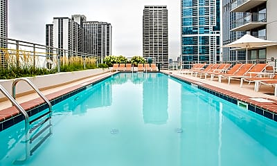 Pool, The Tides at Lakeshore East, 2