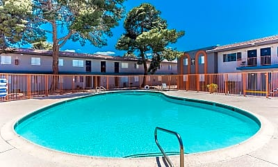 Pool, Arville Park Apartments, 1