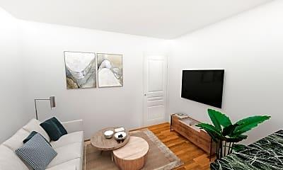 Living Room, 37 Cooper Street, Unit 1, 0