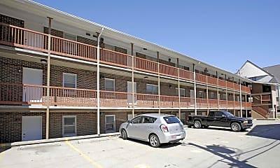 Building, Smith Apartments- 58 E Armory, 2