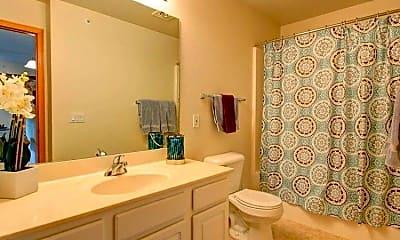 Bathroom, Waterside Apartments, 2