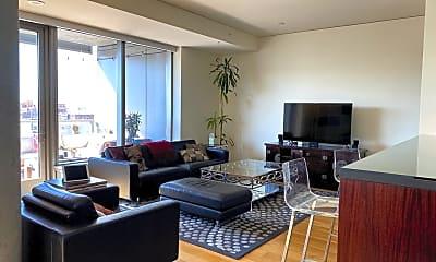 Living Room, 1155 S Grand Ave 701, 2
