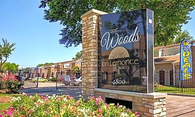 Community Signage, Woods On Lamonte, 2