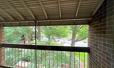 Patio / Deck, 8703 Hayshed Ln 31, 2