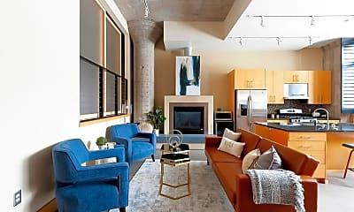 Living Room, 525 N 3rd St 104, 0