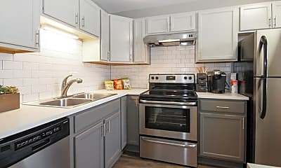 Kitchen, The Hinsdale Apartment Homes, 1
