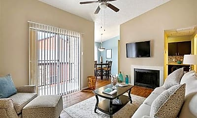 Living Room, 8850 Fair Oaks Crossing, 0