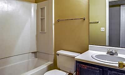 Bathroom, Turtle Place Apartments, 2