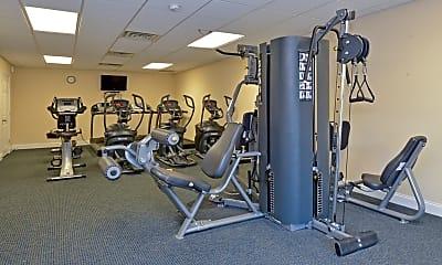 Fitness Weight Room, Fox Run, 2