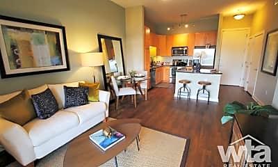 Living Room, 4600 Mueller Boulevard, 1