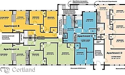 Bedroom, 41 Prospect Terrace, 2