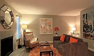 Living Room, 555 Mansell, 1
