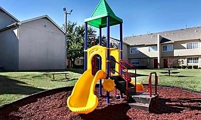 Playground, Lake Hefner Townhomes, 2