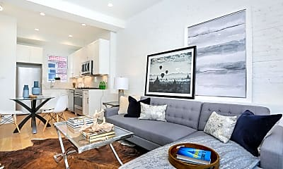 Living Room, 171 Greenwich Ave 3A, 1