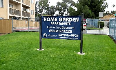 Community Signage, 4770 Home Ave, 1