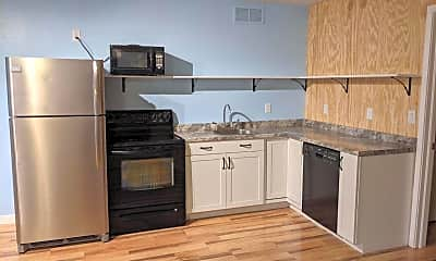 Kitchen, 127 North 500 East Unit H, 1