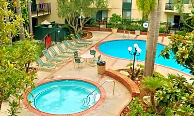 Pool, Willow Tree Apartments, 0