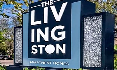 Community Signage, The Livingston, 1