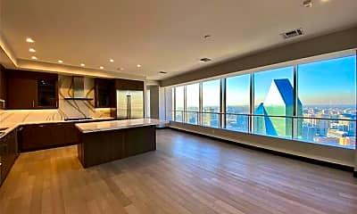 Living Room, 1400 N Akard St 4605, 1