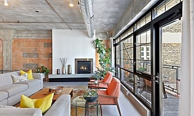 Living Room, 525 N 3rd St 412, 1