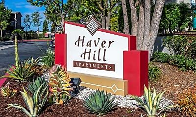 Community Signage, Haver Hill, 1