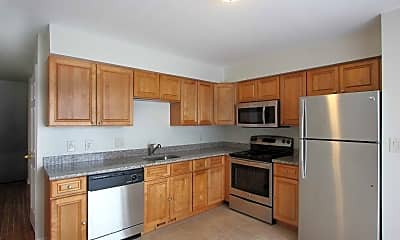 Kitchen, Oak Knoll Apartments, 0