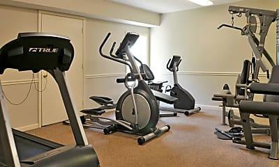 Fitness Weight Room, Domain at Cedar Creek, 1