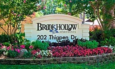 Building, Brookhollow Apartments, 2