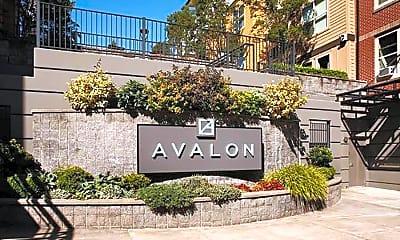 Community Signage, Avalon Bellevue, 2