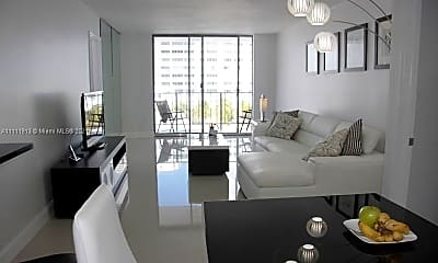Living Room, 9273 Collins Ave 408, 1