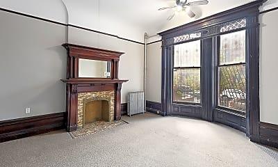 Living Room, 237 Hancock St 1-R, 1