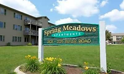 Building, Spring Meadows Apartments, 0