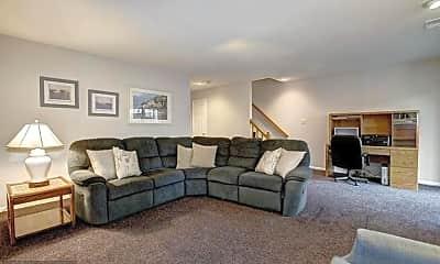 Living Room, Fox Lake Dr, 0
