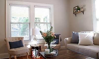 Living Room, 2916 & 2918 W. Bay Vista Avenue, 1