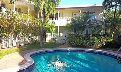 Pool, The Jasmine Apartments, 1