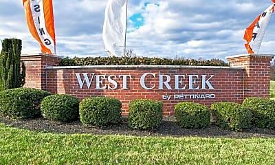 Community Signage, West Creek Village Apartments, 2