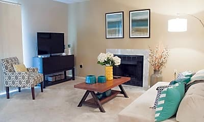 Living Room, Westchase Apartments, 1