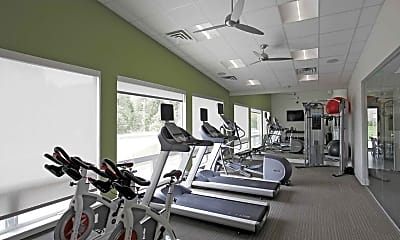 Fitness Weight Room, West 8th Apartments, 1