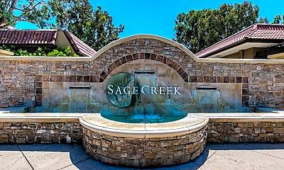 Community Signage, Sage Creek Luxury Apartments, 0