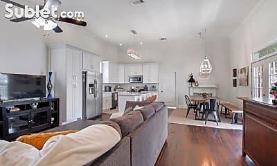 Living Room, 2400 Marengo St, 1