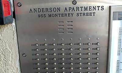 Anderson Hotel, 1